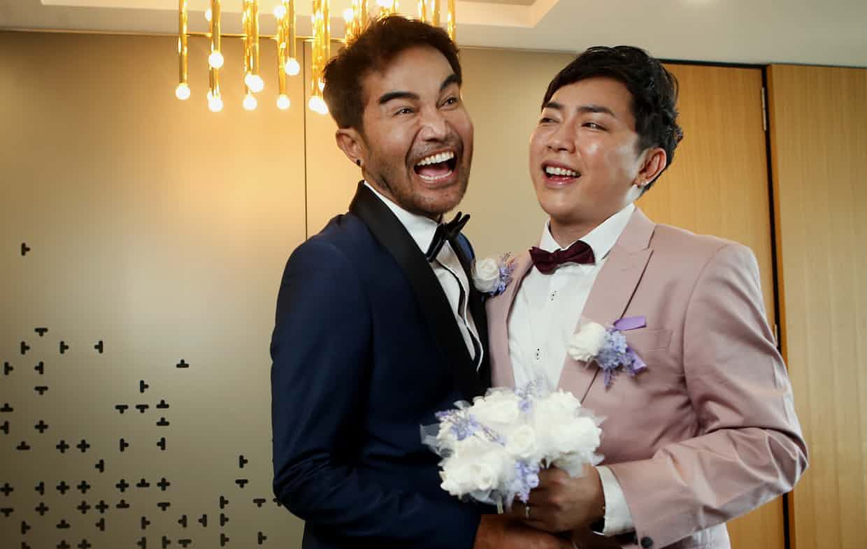 Thai men first same-sex couple to marry in Queensland, Australia | The Thaiger