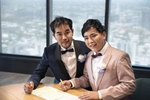Thai men first same-sex couple to marry in Queensland, Australia | News by Thaiger