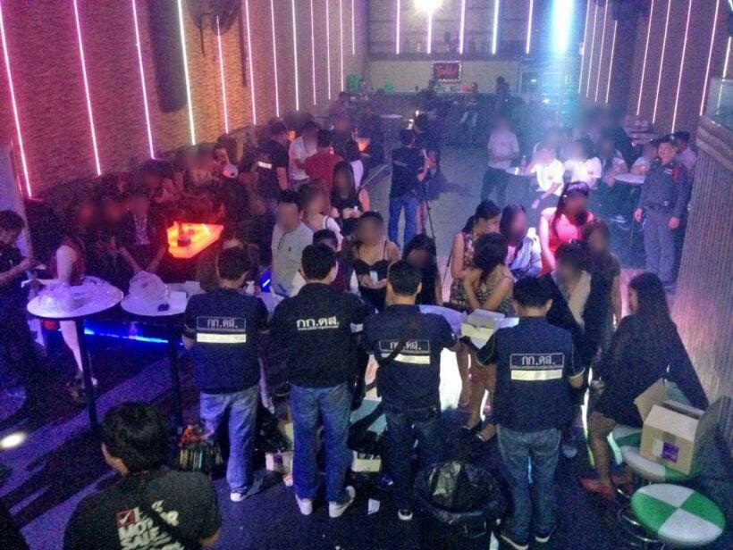 Cops raid BKK pub, still open at 4am | The Thaiger