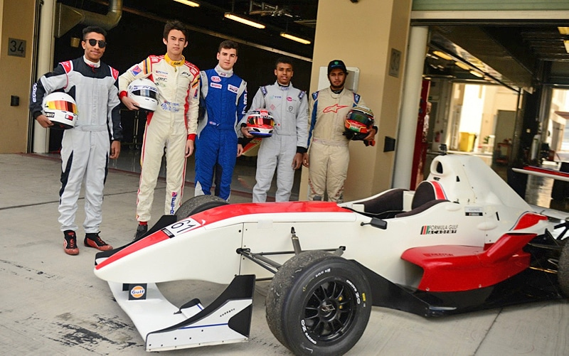 Thailand's Kane Shepherd setting the pace in the Formula Gulf Academy   The Thaiger