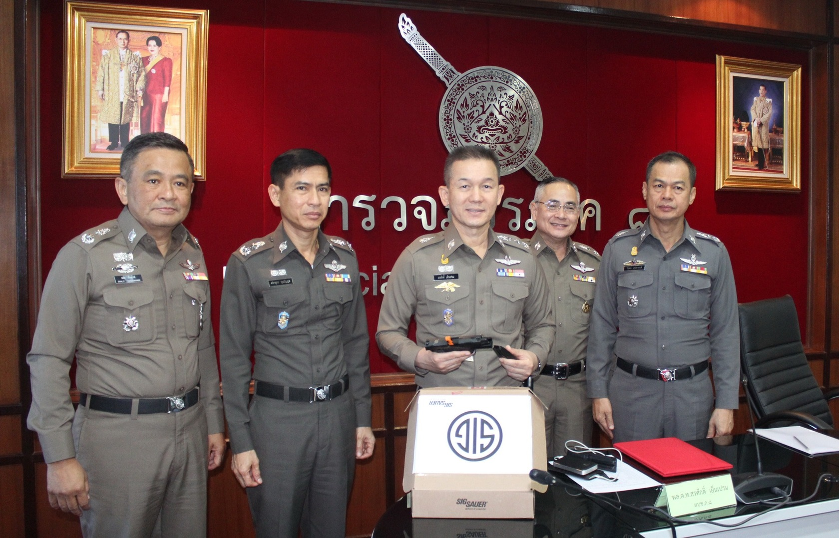3,466 new guns distributed to police in Phuket | The Thaiger