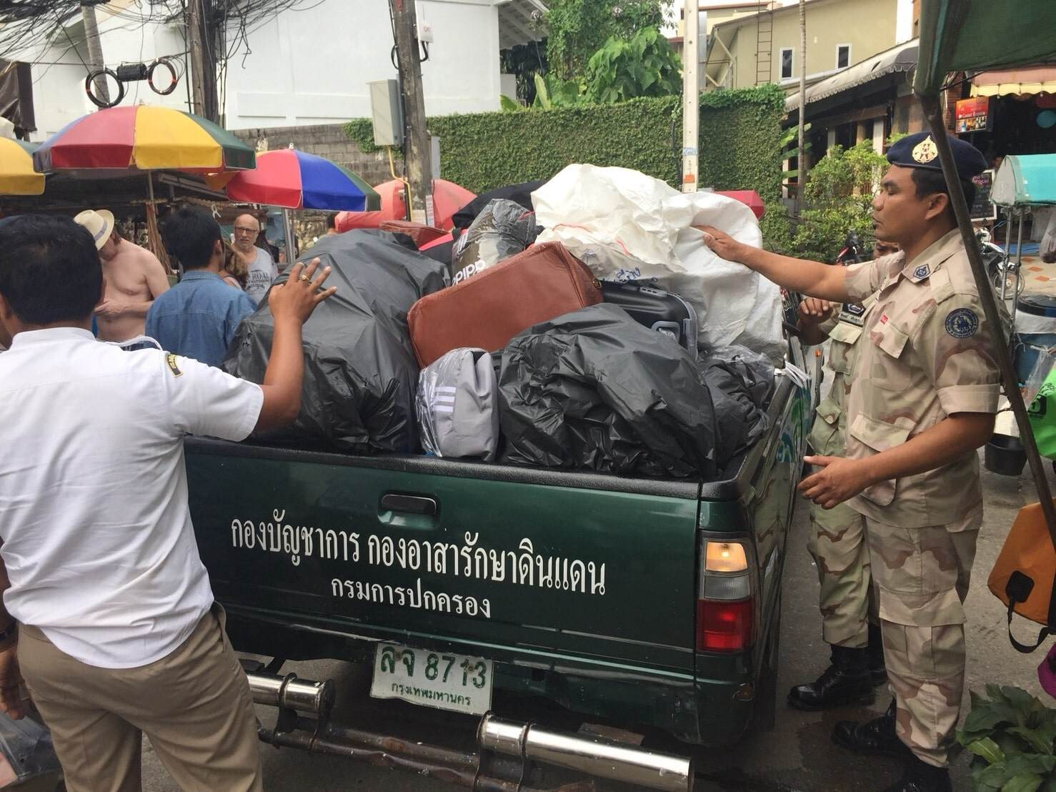 Three nabbed over fake goods and items seized in Karon | The Thaiger
