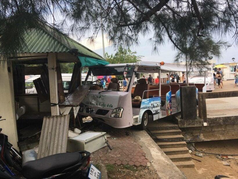 Buggy crash at Ao Po Pier   The Thaiger