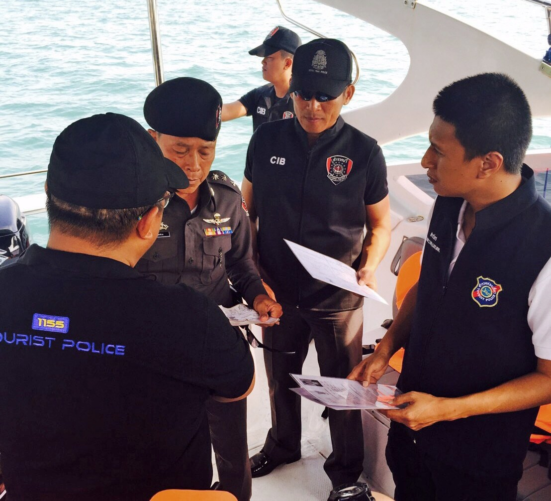 12 infringements during random safety check at Chalong Pier   The Thaiger