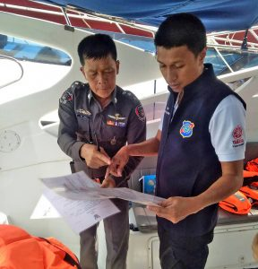 12 infringements during random safety check at Chalong Pier | News by Thaiger
