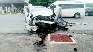 Ukrainian driver loses control of his car - two killed in Cherngtalay crash | News by Thaiger