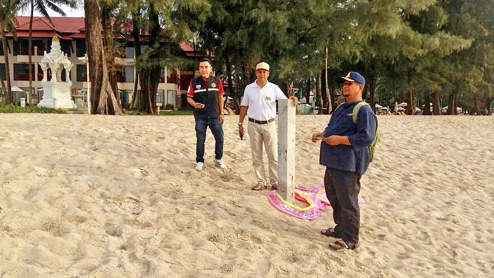 Part of the beach in front of Dusit Thani Laguna is privately owned – Land Office | The Thaiger