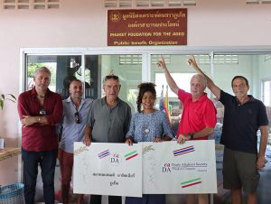 Dante Alighieri Phuket rolls their sleeves up for the elderly   News by Thaiger