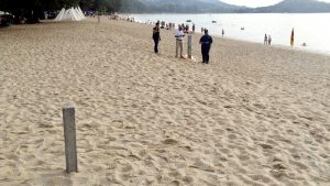 Part of the beach in front of Dusit Thani Laguna is privately owned - Land Office | News by Thaiger