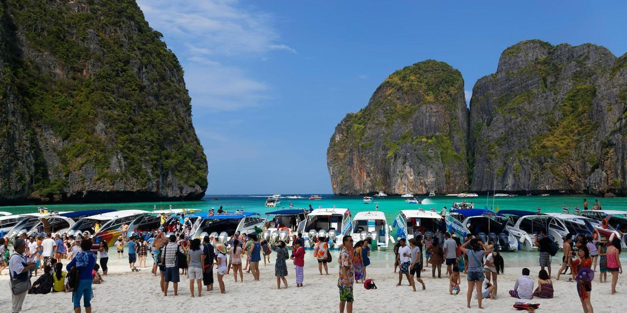 Krabi officials to limit the number of tourists to Maya Bay | The Thaiger