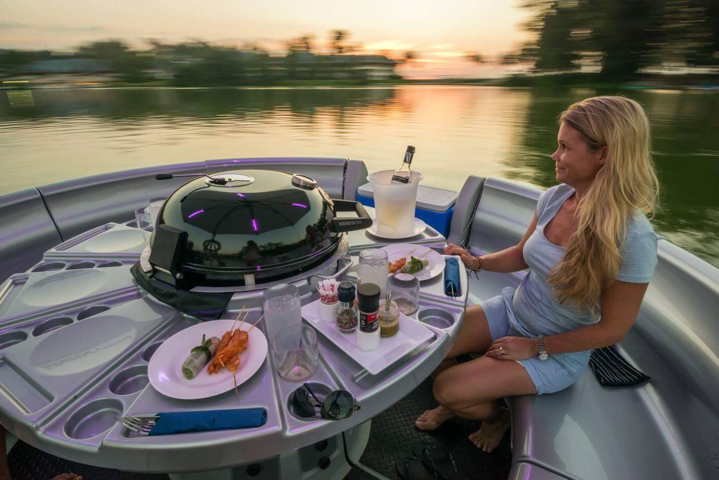 Your table is waiting – on the water | The Thaiger