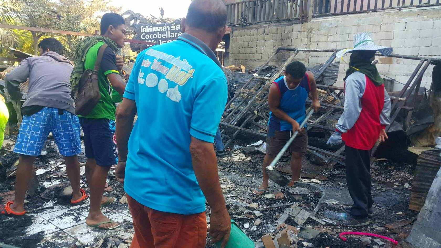Update on Koh Phi Phi fire | The Thaiger
