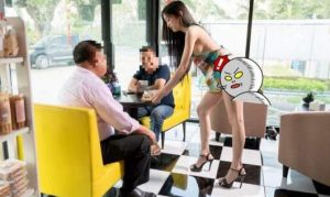 Saucy coffee shop PR stunt backfires | News by Thaiger