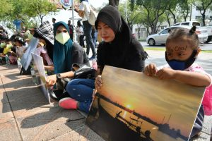Anti-coal protestors start hunger strike | News by The Thaiger