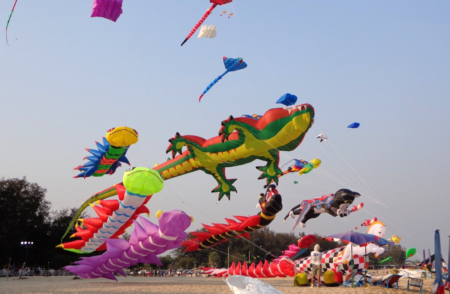 Thailand Kite Festival returns to Hua Hin in March | The Thaiger