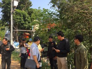 Waterfall encroachment opposite disputed Ao Sane villa construction   News by Thaiger