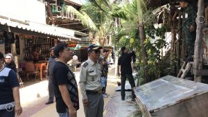 Six buildings demolished for encroaching national park land on Phi Phi | News by Thaiger