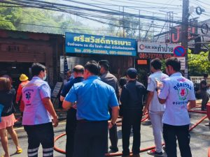 Fire in Phuket town destroys four houses | News by Thaiger