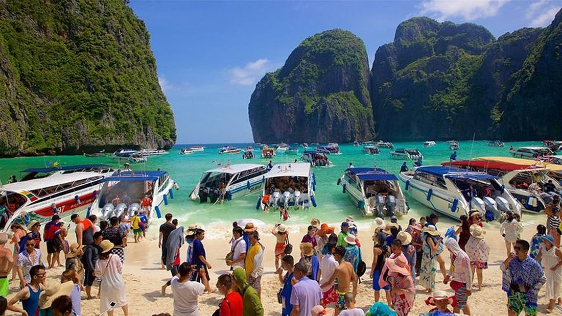Phi Phi's Maya Bay to be closed this June. Or maybe not… | The Thaiger