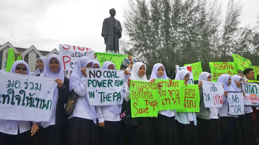 Activists report Thepa power plant concerns to UN | The Thaiger