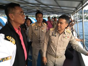 Phuket's Governor visits Tritrang Beach to inspect action over effluent   News by Thaiger