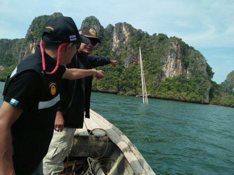 Yacht sunk off Railay Beach | The Thaiger
