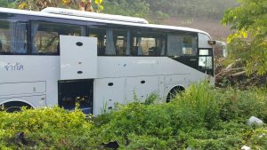 Russian tour bus crashes in Krabi | News by Thaiger