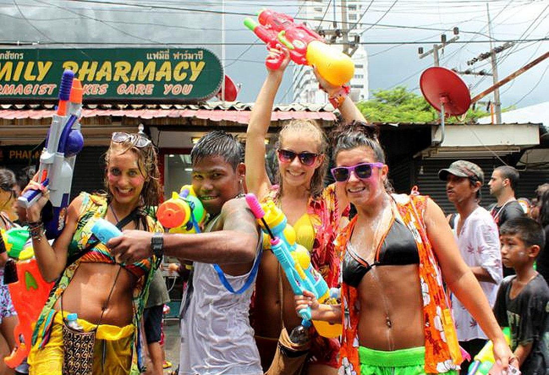 Tourism set to rise 18% for this year's Songkran | The Thaiger