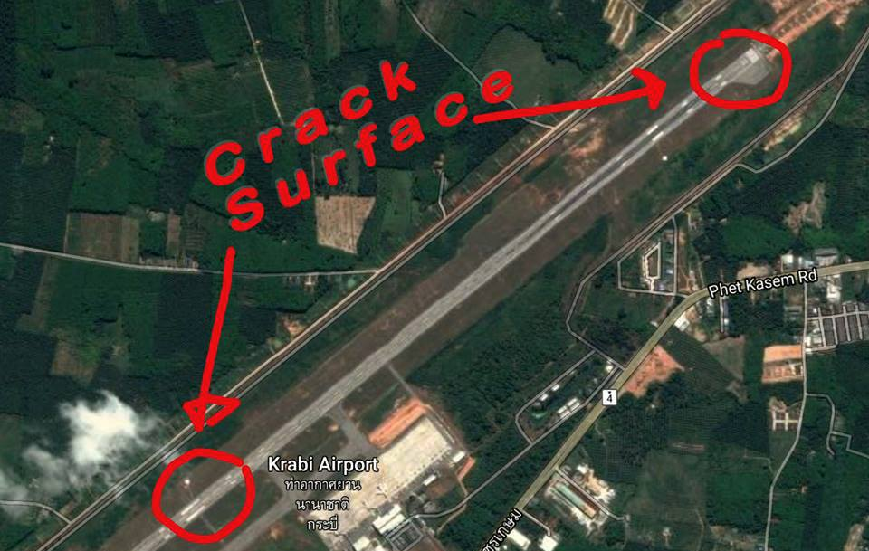 Krabi Airport Director is waiting for engineer's report tomorrow | The Thaiger