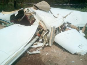 Two dead and two injured. Plane crashes in Paklok, Phuket. | News by The Thaiger