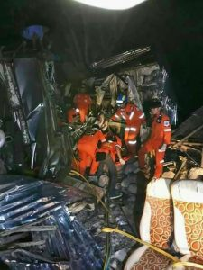 Nakhon Ratchasima bus crash kills 16   News by Thaiger