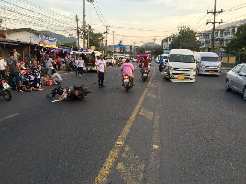 หนุ่มพัทลุงขับรถย้อนศรตัดหน้ารถตู้กระทันหันถูกรถตู้ชนเสียชีวิต | The Thaiger