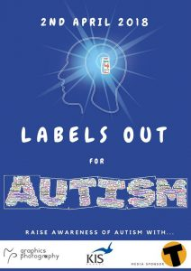 """""""Labels Out For Autism Campaign"""". Monday, April 2.   News by Thaiger"""