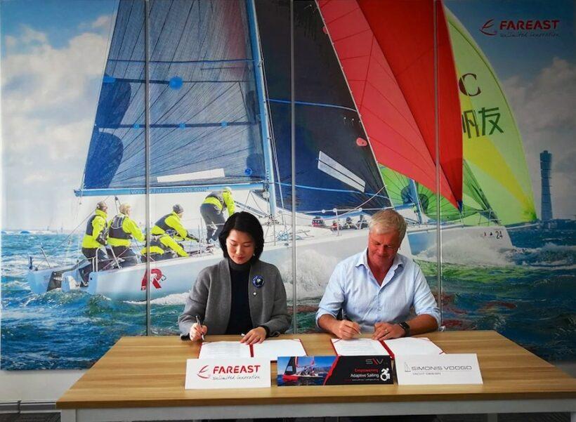 Thai disability sailing gets a boost | News by Thaiger