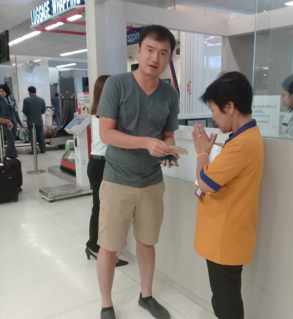 Phuket Airport cleaner returns 600,000 Baht worth of valuables   News by Thaiger