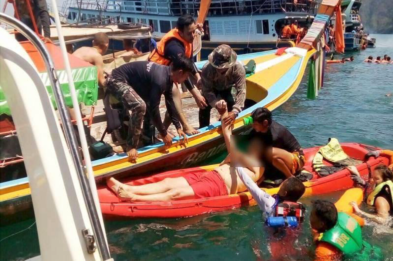 French tourist dies after visit to Emerald Cave in Trang | The Thaiger