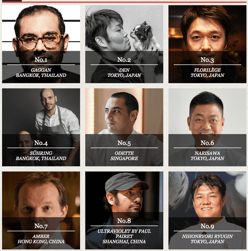 """Asia's 50 Best Restaurants list - """"Biased, commercialised and a big publicity stunt."""" 
