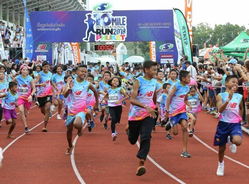 4,000 runners compete at 4th Supersports 10 Mile International Run 2018 @ Thanyapura, Phuket | The Thaiger