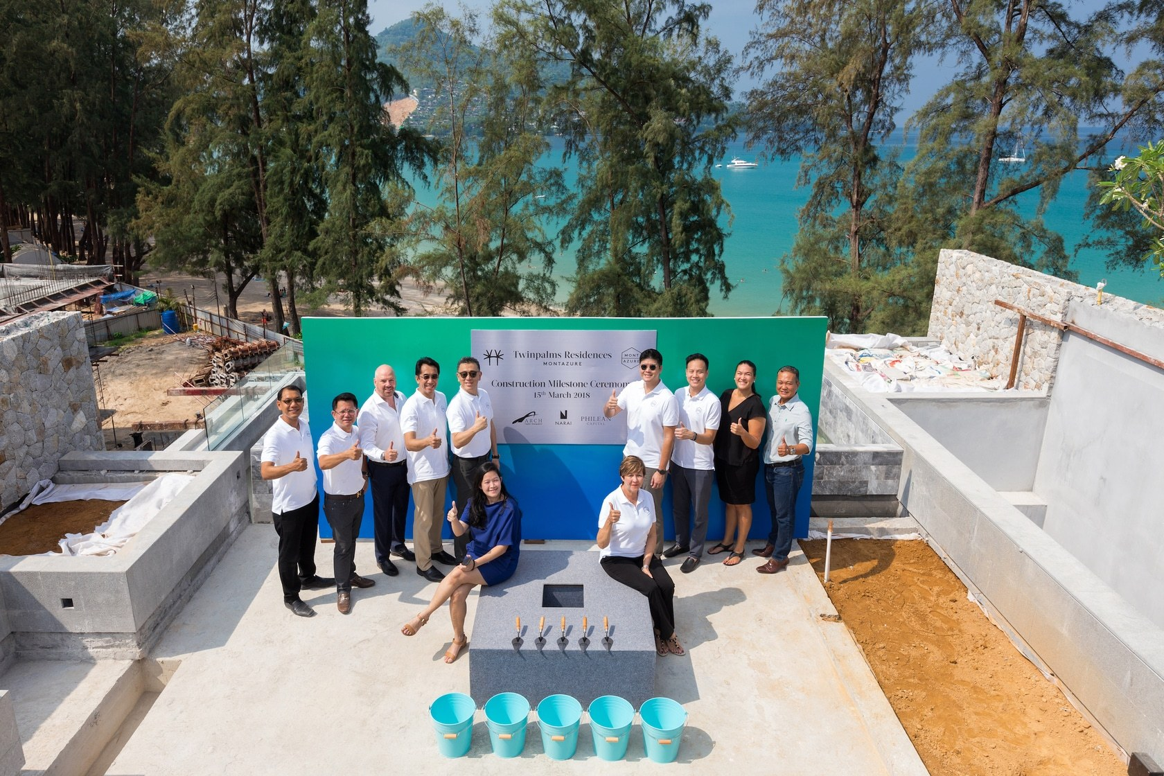 Milestone complete for upscale MontAzure on Kamala Beach | The Thaiger