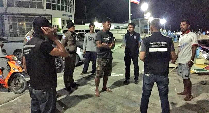 35 tourists jump off burning dive boat in Krabi | News by The Thaiger