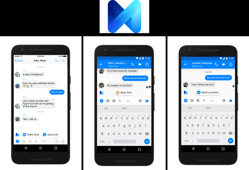 M comes to your Facebook Messenger   News by Thaiger
