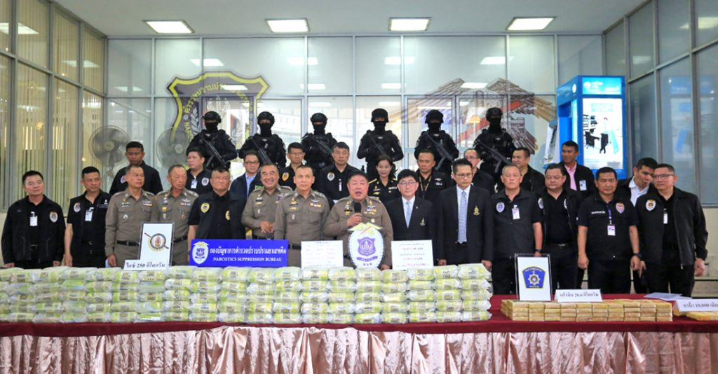 National drug crackdown nets drugs worth 320 million baht | News by Thaiger