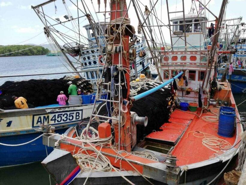 หยุดออกเรือจับปลา เรียกร้องรัฐบาลทบทวนประกาศและการออกกฎระเบียบที่เข้มงวดเกินไป | The Thaiger