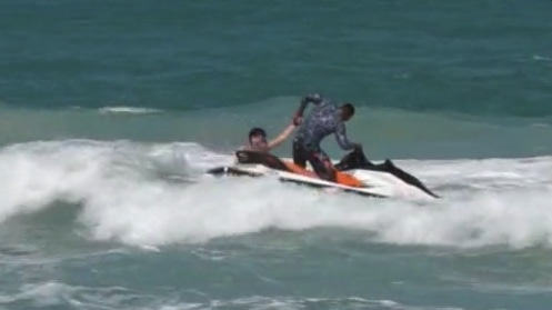 Samui jet ski operators scoop Russian tourist out of the surf | The Thaiger