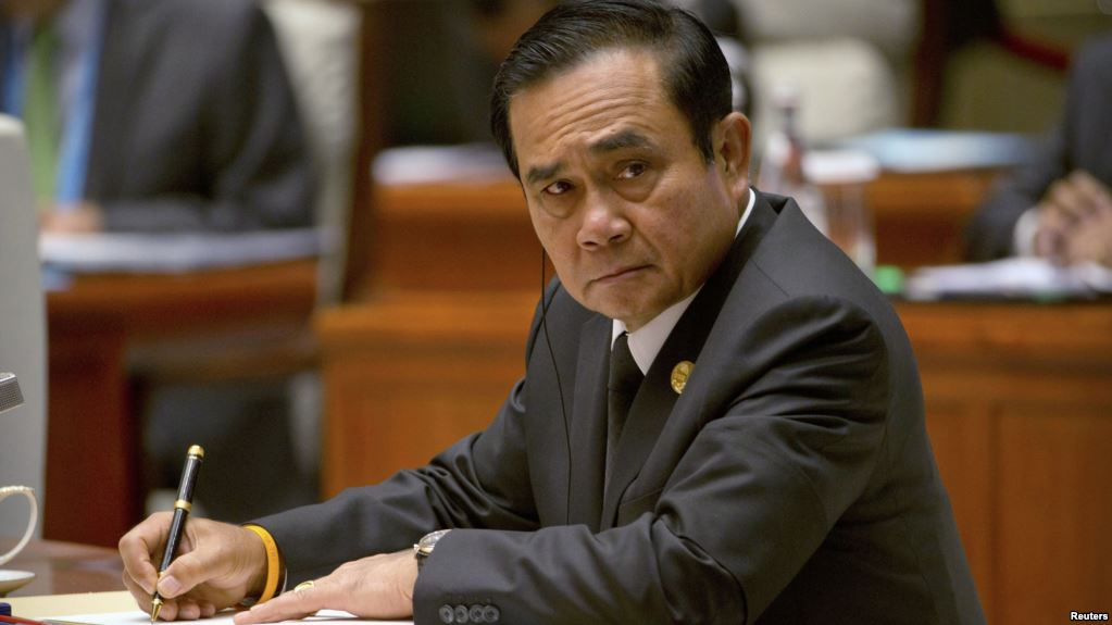 Thai PM insists martial law will not be used against protesters   Thaiger