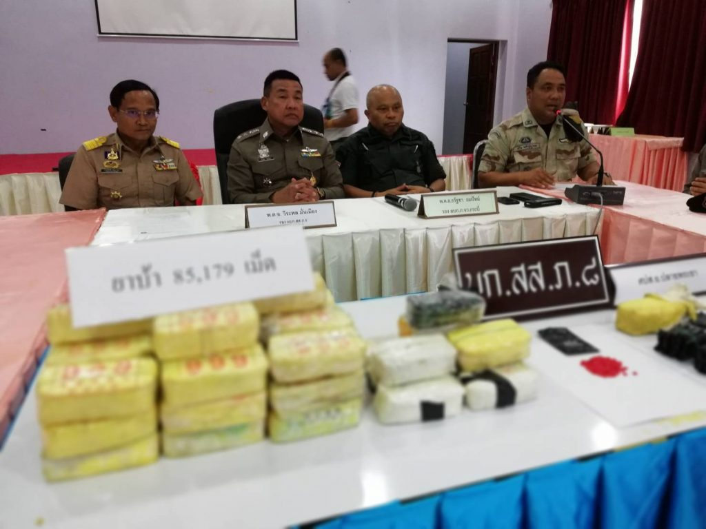 10 million Baht crackdown on drugs. Meanwhile the drugs get cheaper. | News by Thaiger