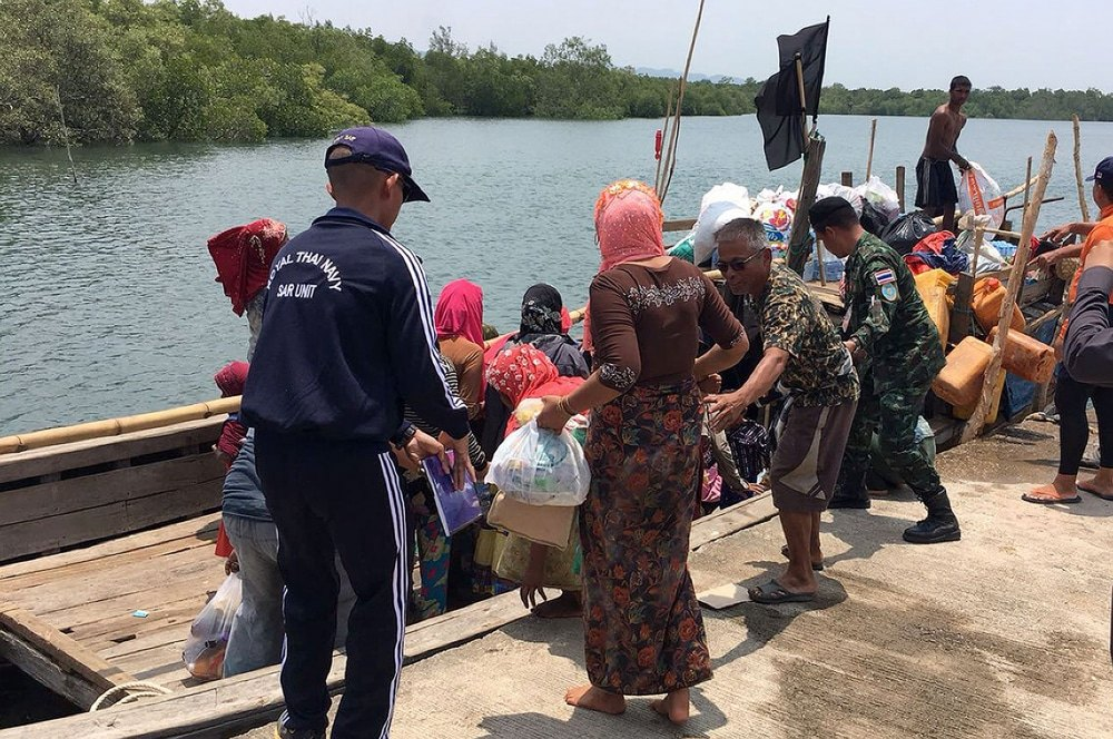 Rohingya boat people land in Thailand   News by Thaiger