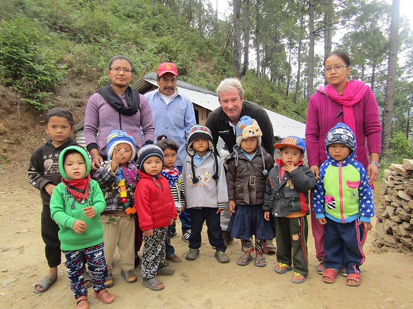 Founding partner of Pavilions Himalayas honoured for charitable work in Nepal | The Thaiger