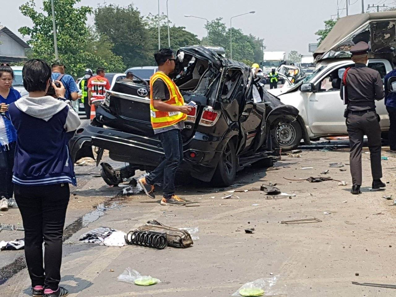 Day Five – Drunk driving leads the way on Thailand's 'killing fields'   The Thaiger