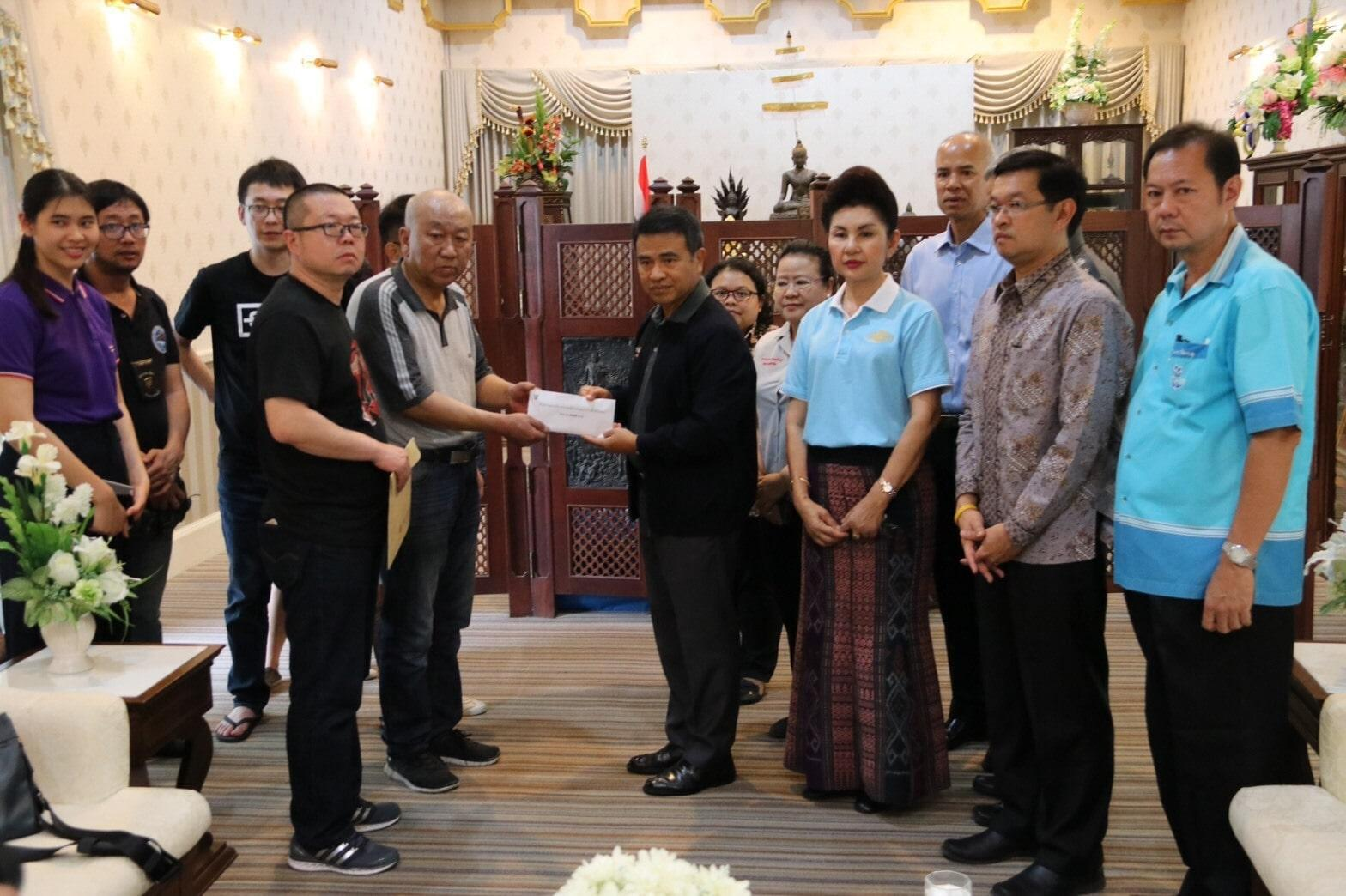 Government donates money to the family of Chinese road accident victim | The Thaiger